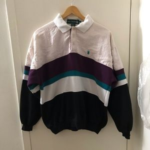 Vintage Knights of the round L/s polo